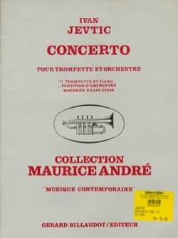 Concerto Ivan Jevtic Partition Trompette - laflutedepan