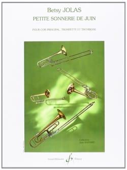 Betsy Jolas - June Small Ring - Sheet Music - di-arezzo.com
