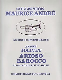 André Jolivet - Arioso Barocco - Partition - di-arezzo.co.uk