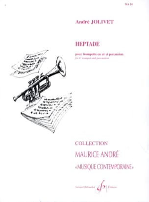 André Jolivet - Heptade - Score And Parts - Sheet Music - di-arezzo.co.uk