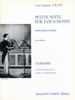 Jean-Clément Jollet - Piccola Suite su 5 o 6 note - Partitura - di-arezzo.it