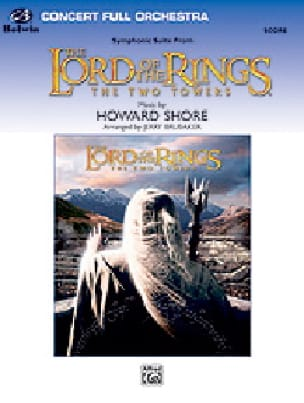 Howard Shore - The Lord of the Rings - The Two Towers Score - Partition - di-arezzo.fr