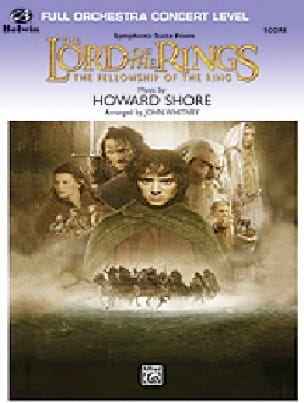 Howard Shore - The Lord of the Rings - The Fellowship of the Ring Score - Partition - di-arezzo.fr