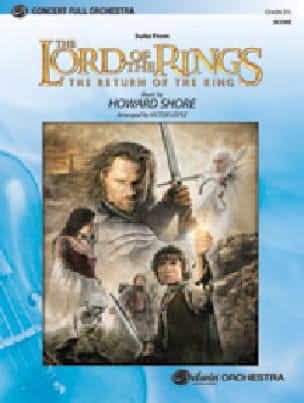 Howard Shore - The Lord of the Rings - The Return of the King Score - Sheet Music - di-arezzo.com