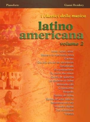 - I Classici Della Musica Latino Americana - Volume 2 - Partition - di-arezzo.fr