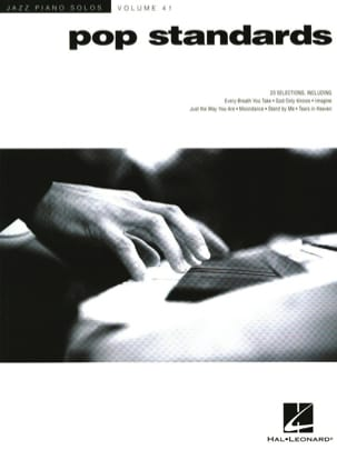 - Jazz Piano Solos Series Volume 41 - Pop Standards - Partition - di-arezzo.fr