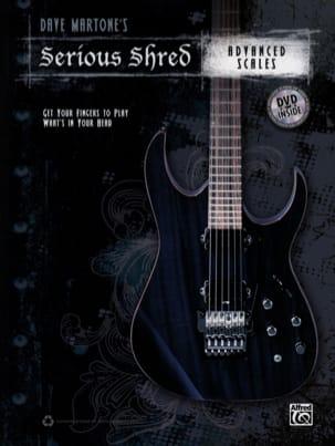 Serious Shred - Advanced Scales - Dave Martone - laflutedepan.com