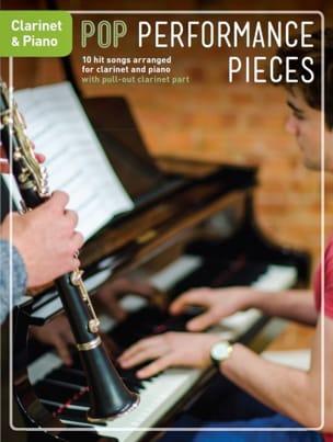 Pop Performance Pieces - Clarinet And Piano - laflutedepan.com