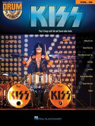 Drum Play-Along Volume 39 - Kiss Kiss Partition laflutedepan