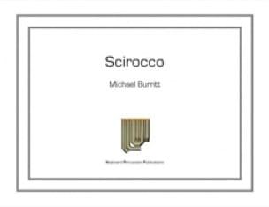 Scirocco - Michael Burritt - Partition - Marimba - laflutedepan.com