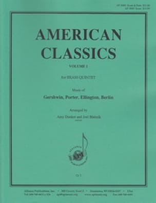 - American Classics, Volume 1 for Brass Quintet - Score - Sheet Music - di-arezzo.com