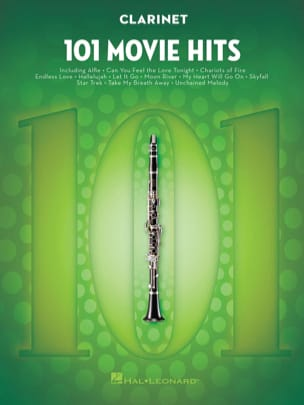 - 101 Movie Hits For Clarinet - Partition - di-arezzo.fr