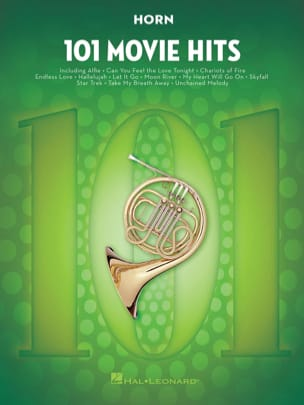 - 101 Movie Hits For Horn - Sheet Music - di-arezzo.com