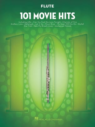 - 101 Movie Hits For Flute - Partition - di-arezzo.fr