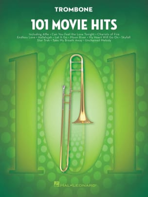 - 101 Movie Hits For Trombone - Partition - di-arezzo.fr