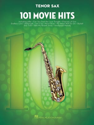- 101 Movie Hits For Tenor Saxophone - Partition - di-arezzo.fr