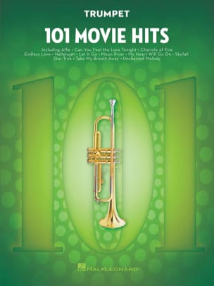 - 101 Movie Hits For Trumpet - Partition - di-arezzo.fr