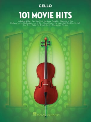 - 101 Movie Hits For Cello - Partition - di-arezzo.fr