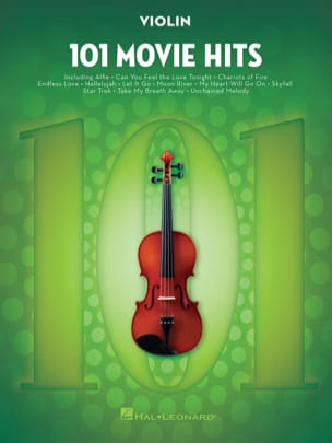 101 Movie Hits For Violin Partition Violon - laflutedepan