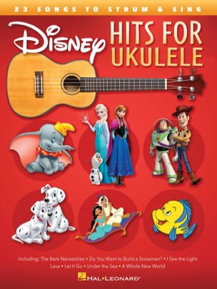 DISNEY - Disney Hits For Ukulele	 - Partition - di-arezzo.fr