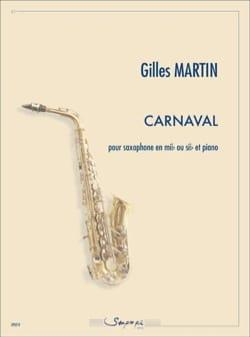 Gilles Martin - Carnaval - Partition - di-arezzo.fr
