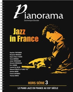Pianorama Jazz in France Partition Jazz - laflutedepan