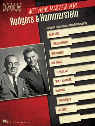 Rodgers & Hammerstein - Jazz Piano Masters Play Rodgers & Hammerstein - Sheet Music - di-arezzo.co.uk