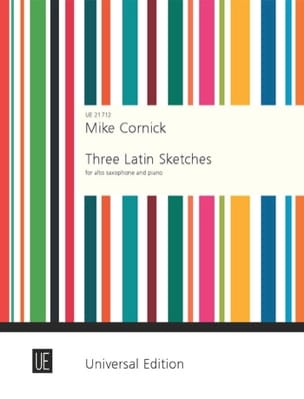 Mike Cornick - Three Latin Sketches - Sheet Music - di-arezzo.co.uk