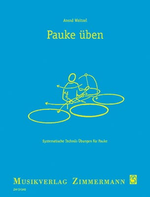 Arend Weitzel - Pauke Uben - Partition - di-arezzo.co.uk