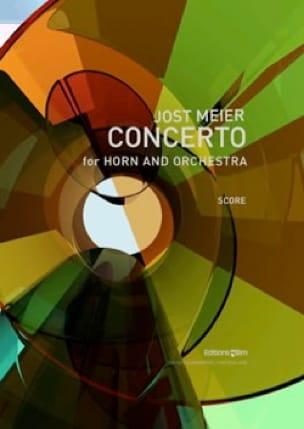 Jost Meier - Concerto for Horn - Orchestra - Sheet Music - di-arezzo.com