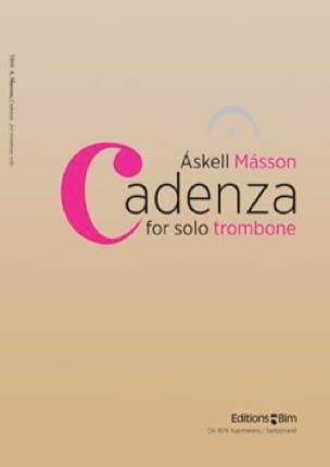 Askell Masson - Cadenza - Partition - di-arezzo.fr