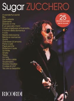 Zucchero - Sugar - Sheet Music - di-arezzo.co.uk