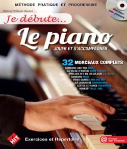 Je débute... Le Piano - Partition - Piano - laflutedepan.com