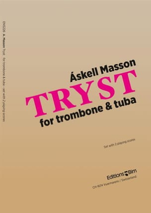 Tryst Askell Masson Partition Ensemble de cuivres - laflutedepan