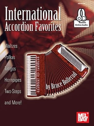 International Accordion Favorites, avec contenu audio téléchargeable laflutedepan
