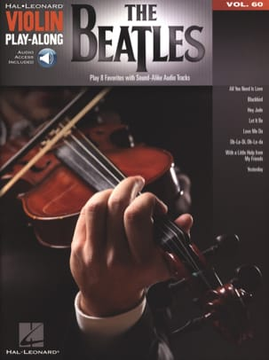 Violin Play-Along Volume 60 The Beatles - BEATLES - laflutedepan.com