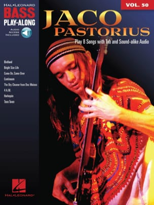 Jaco Pastorius - Bass Play-Along Volume 50 - Jaco Pastorius - Sheet Music - di-arezzo.co.uk