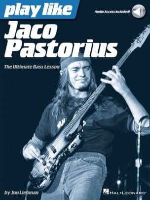 Play Like Jaco Pastorius - Jaco Pastorius - laflutedepan.com