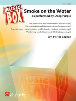 Deep Purple - Smoke on the Water - Musix Box - Partition - di-arezzo.fr