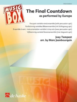 Europe (Joey Tempest) - The Final Countdown - Music Box - Partition - di-arezzo.fr