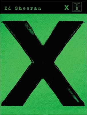 X Version Guitare Ed Sheeran Partition Guitare - laflutedepan