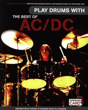 AC-DC - Play Drums With... The Best Of AC/DC - Partition - di-arezzo.fr