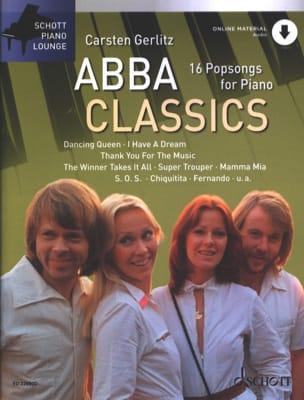 Abba Classics Abba Partition Pop / Rock - laflutedepan