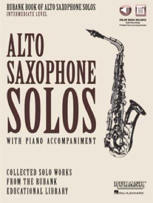 Rubank Book of Alto Saxophone Solos - Intermediate Level - Partition - di-arezzo.ch