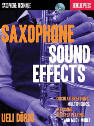 Saxophone Sound Effects - Ueli Dörig - Partition - laflutedepan.com