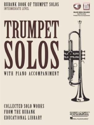 Rubank Book of Trumpet Solos - Intermediate Level laflutedepan