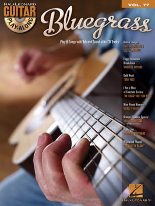 Guitar Play-Along Volume 77 - Bluegrass Partition laflutedepan