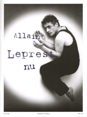 Allain Leprest - nudo - Partitura - di-arezzo.it