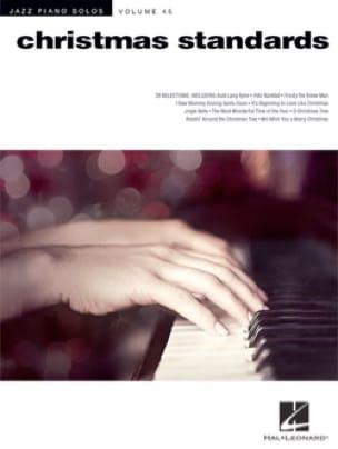 Noël - Jazz Piano Solos Series Volume 45 - Christmas Standards - Partition - di-arezzo.fr