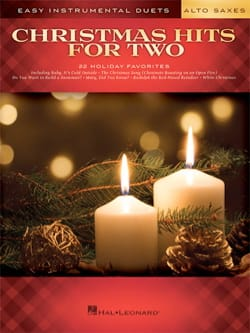 Christmas Hits for Two Alto Saxes - Noël - laflutedepan.com